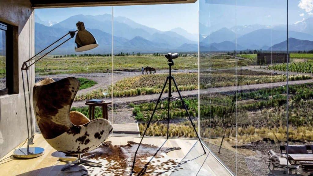 Mendoza: Njut av god mat och vin i det äventyrliga landskapet på det argentinska höglandet.