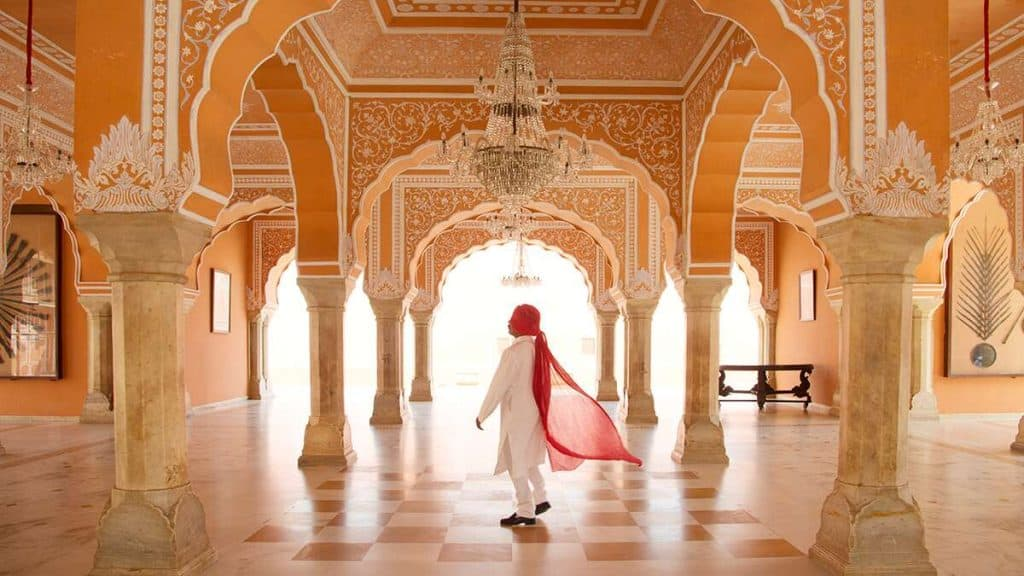 City Palace i Jaipur, Indien.