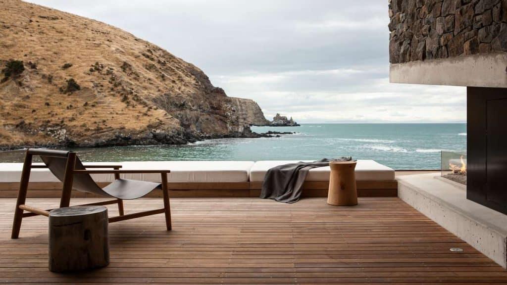 Njut av naturen kring Annandale Luxury Lodge i Pigeon Bay på Nya Zeeland.