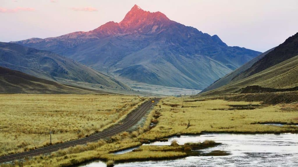 Andesbergen.