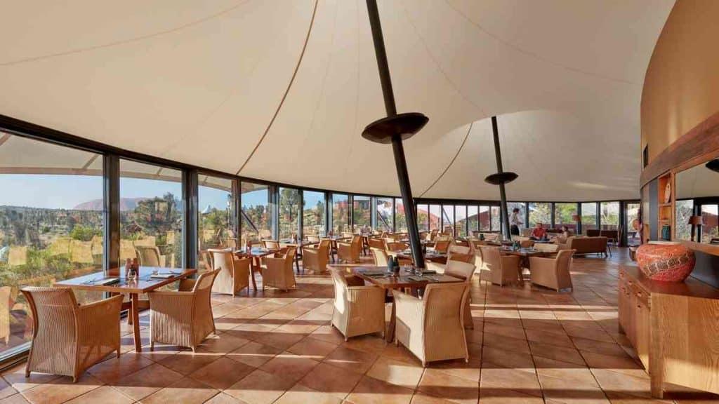 Longitude 131 luxury wilderness camp.