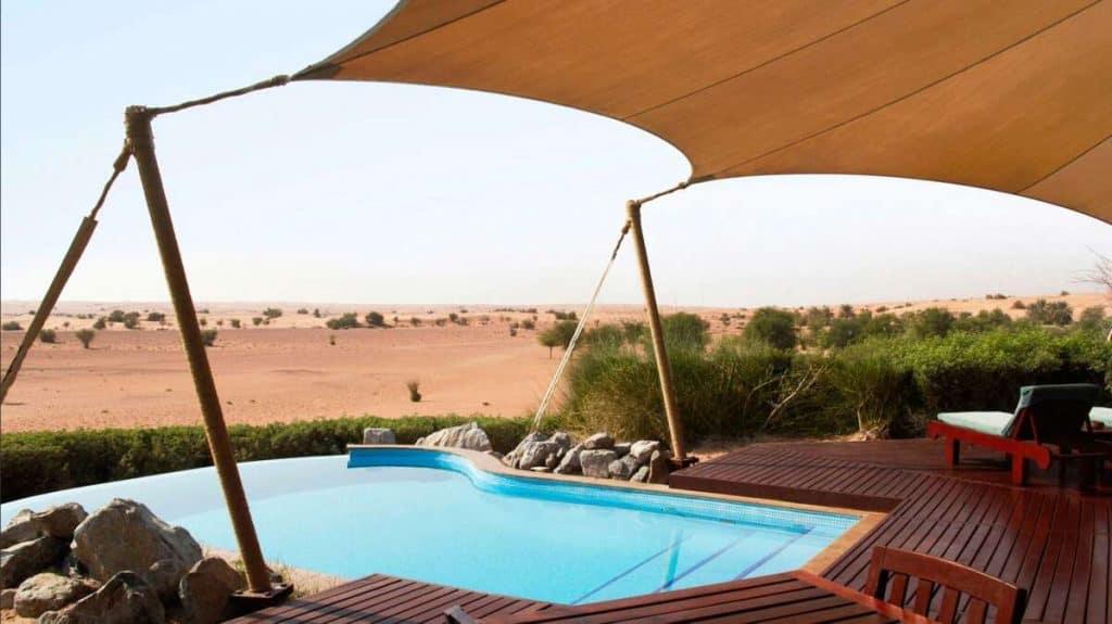 Beduin suite på Al Maha Desert Resort i Dubai.