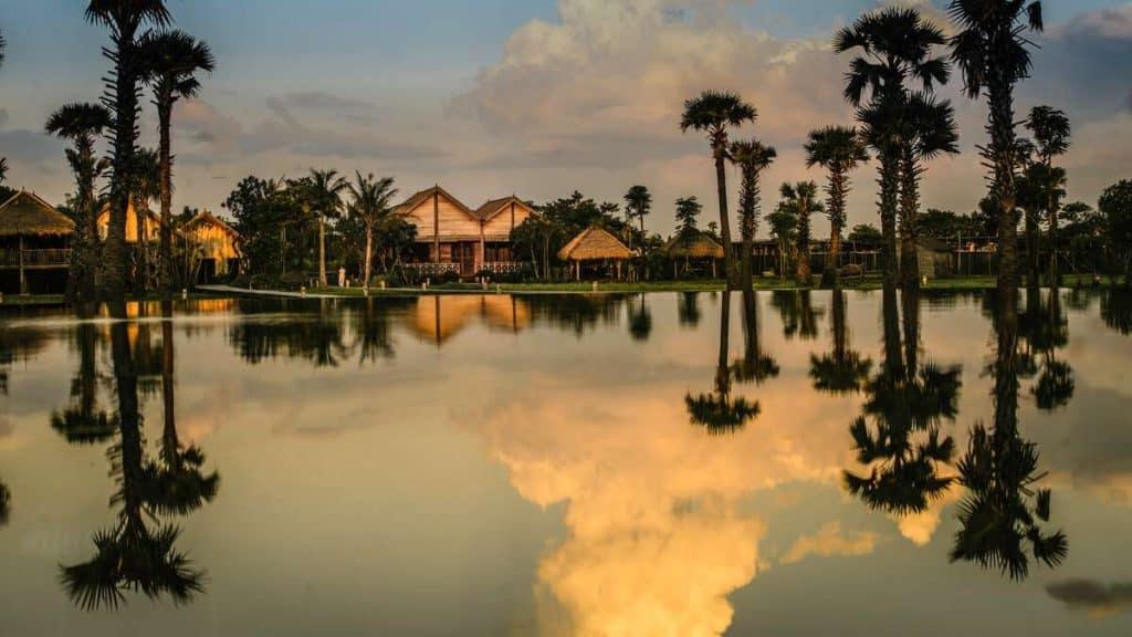 Resorten Phum Baitang Zannier utanför Siem Reap i Ankor är en oas.