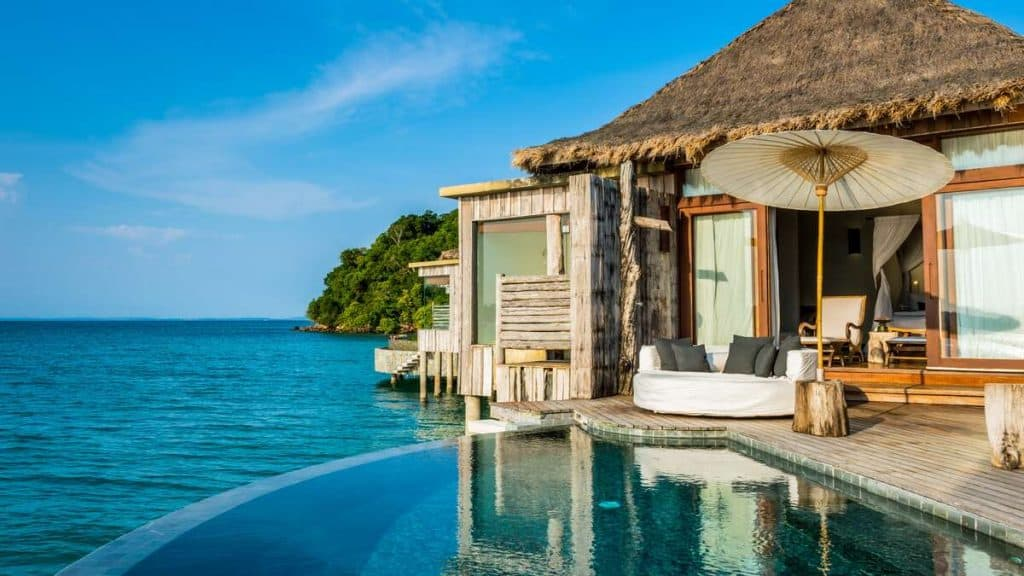 Overwater Villa på Song Saa Private Island.