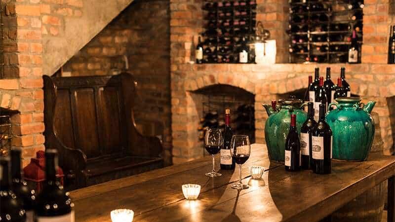 Vinprovning på La Residence