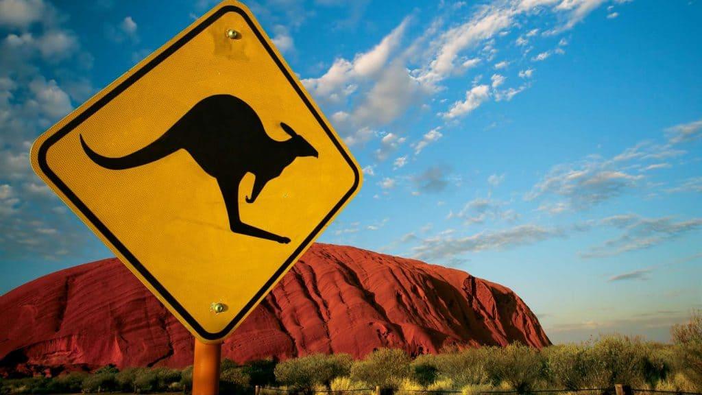 Uluru i Australien