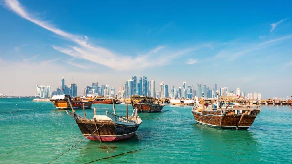Skyline i Doha.