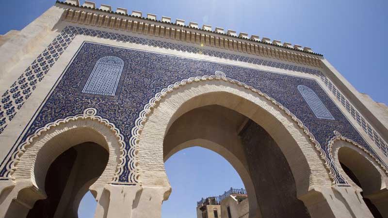 Upplev färgrika Marocko.