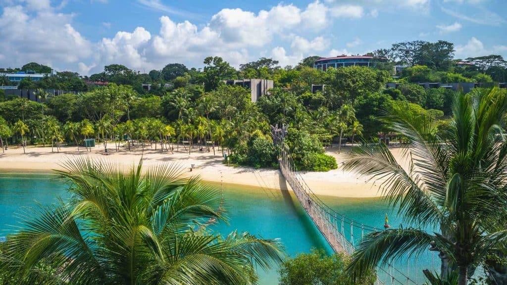Sentosa Island i Singapore.