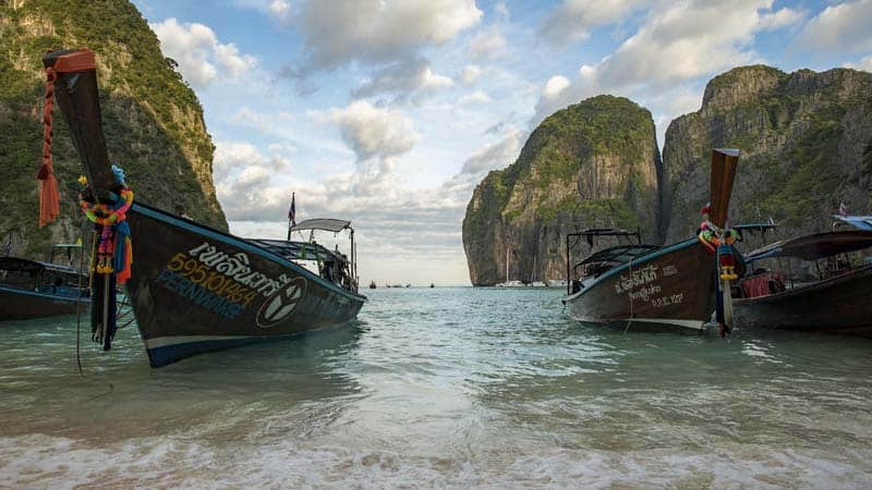 Utforska Thailand.